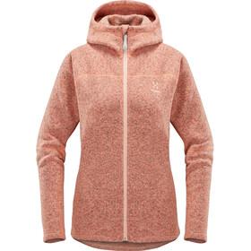 Haglöfs W's Swook Hood Jacket Cloudy Pink